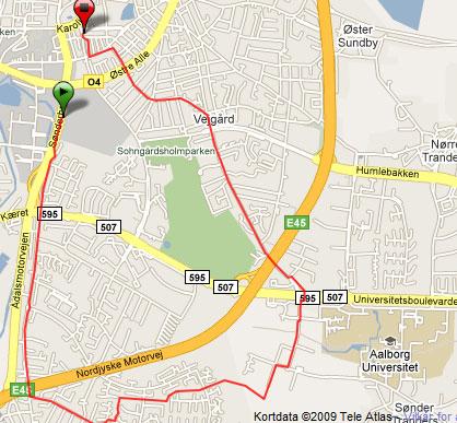 10-km-løbetur