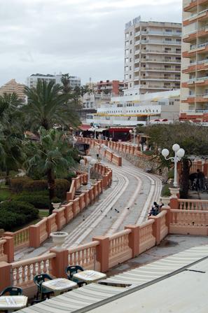 Benalmadena - Strandpromenade