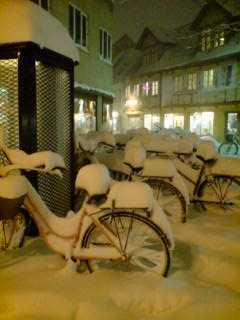 Sne i Aalborg