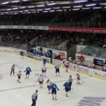 Ishockey varsler om efterår