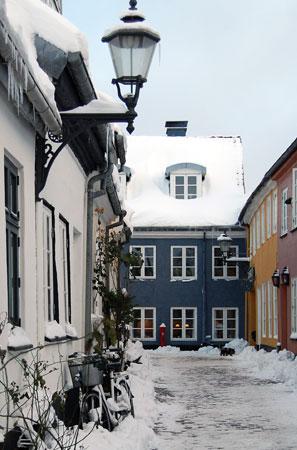 Vinter i Hjelmerstald